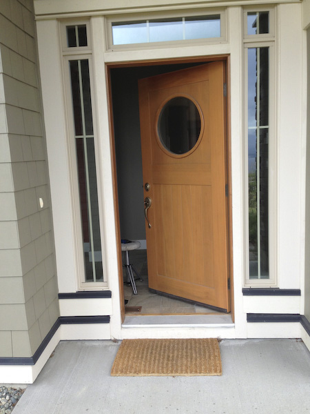Channelview front door rekey
