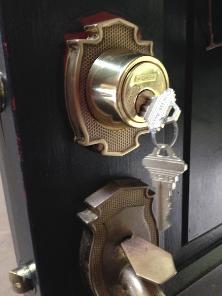 Quebec Lane deadbolt repair